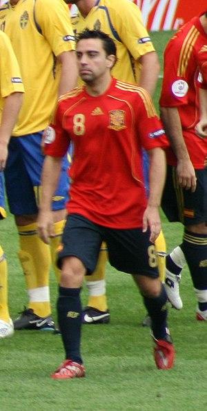 Español: (Foto recortada) El jugador de fútbol...
