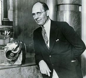 Charles F. Kettering, pictured with his first ...