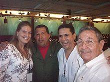 Raúl Castro with Hugo Chávez, 2010