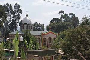 English: Ethiopian orthodox church in Addis Abeba