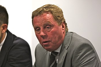 Harry Redknapp, manager of Tottenham Hotspur, ...