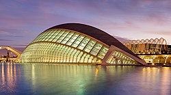 L´Hemisferic en Valencia