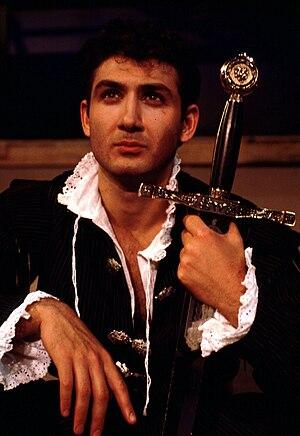 English: John Farmanesh-Bocca as Prince Hal in...