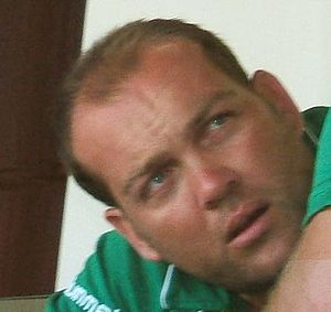 Jacques Kallis at a training session at the Ad...