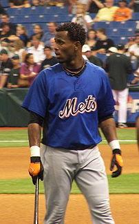 New York Mets shortstop José Reyes during a Me...