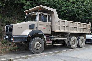 English: Renault Dump Truck.