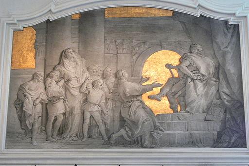 Udine Oratorio della Puritá - Wandfresco Makkabäer