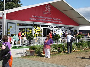 English: Welsh Asseembly Government Pavillion ...