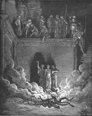 Shadrach, Meshach and Abednego in the Furnace ...