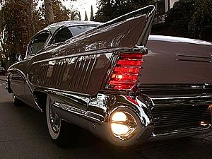 English: 1958 Buick Limited qualifies for Publ...