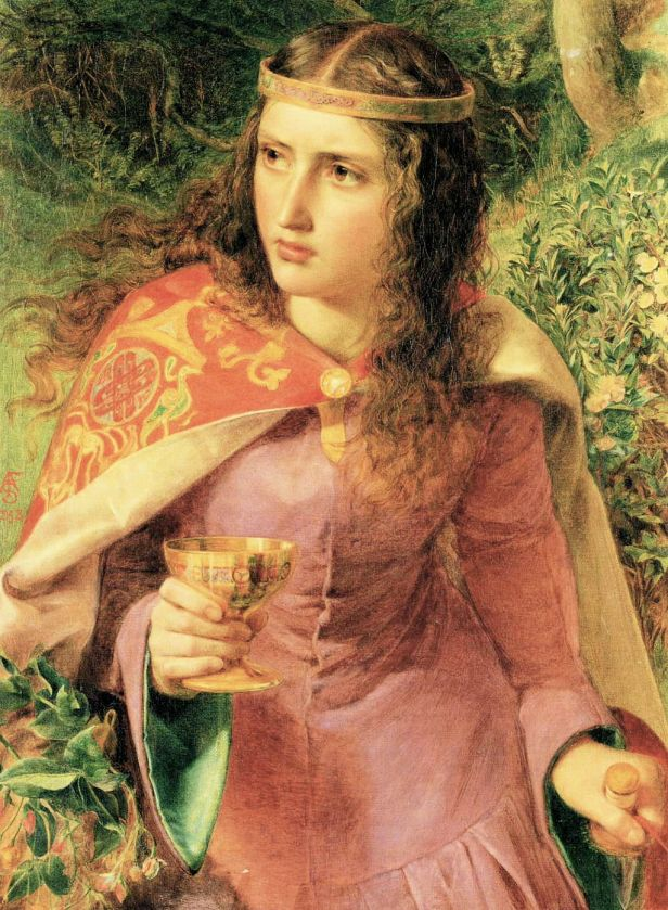 Anthony Frederick Sandys - Queen Eleanor
