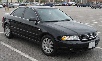 1995-2001 Audi A4 Quattro photographed in USA....