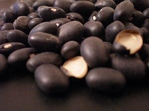 bean, black bean, turtle bean, dried black beans