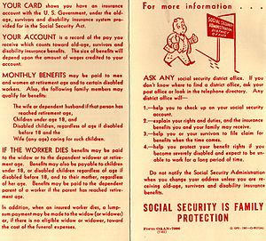 Brochure from 1961 with basic advice about Soc...