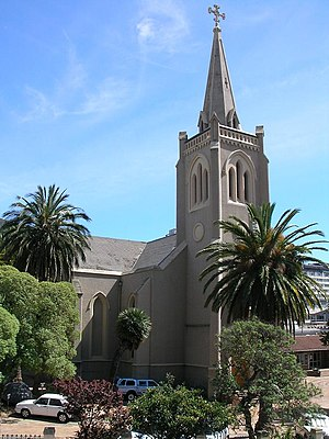 Die Kriche an der Long Street in Kapstadt