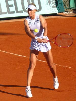 Elena Dementieva at 2009 Roland Garros, Paris,...