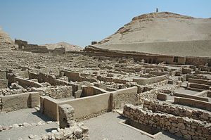 English: the ancient egyptian workmans village...