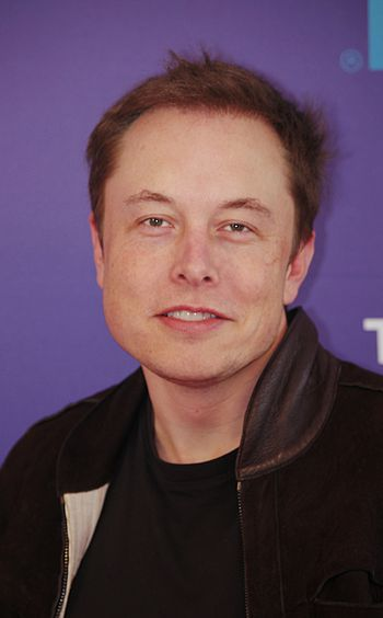 English: Elon Musk at the panel Tribeca Talks:...