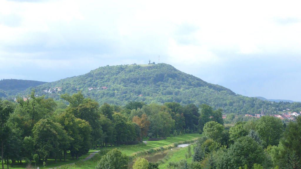 Site of the fortress of Frauenberg, now Frauenberg bei Sondershausen, in old Thuringia