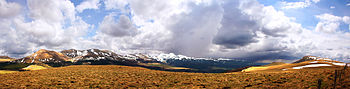 English: Moutains of Sancy shot in early sprin...