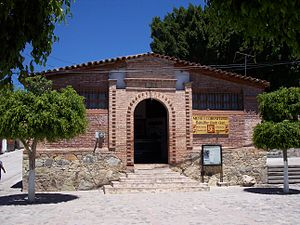 Museum of Teotitlán del Valle town. SPANSIH: M...