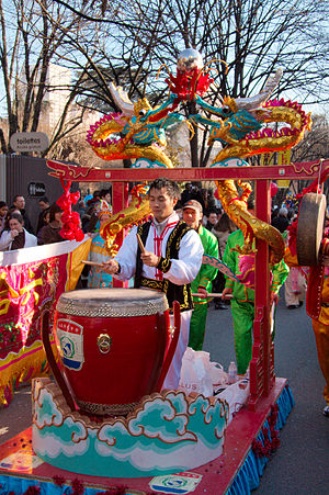 Chinese New Year, which took place in the 13th...
