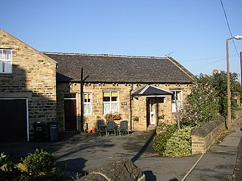 English: Old School, Liversedge. The former Na...