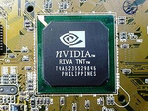 English: NVIDIA RIVA TNT GPU