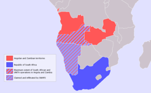 Scope of operations in the South African Borde...