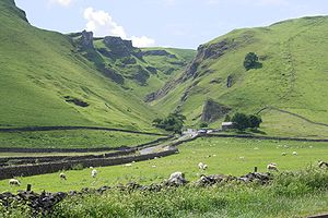 , viewed from the edge of Castleton (Derbyshir...
