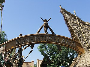 English: Disneyland Adventureland.