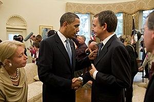 Barack Obama, Jose Luis Rodriguez Zapatero