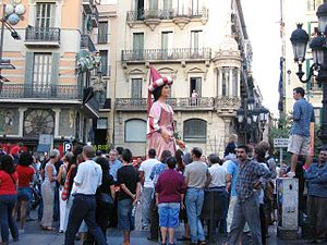 Barcellona mercede celebration