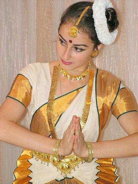 Dancer in a Sari