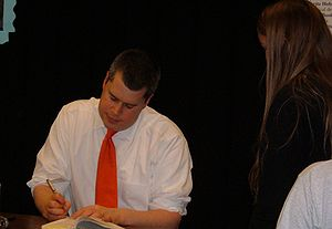 Author Daniel Handler, AKA Lemony Snicket, per...