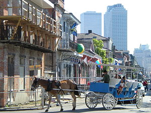 English: French Quarter - New Orleans