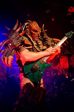 Flattus Maximus, guitarist of GWAR