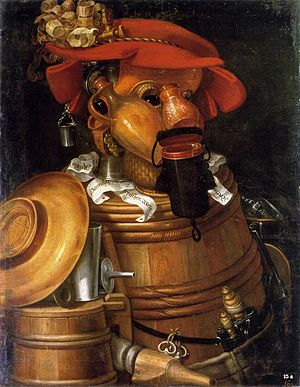 Giuseppe Arcimboldo - The Waiter - WGA0835
