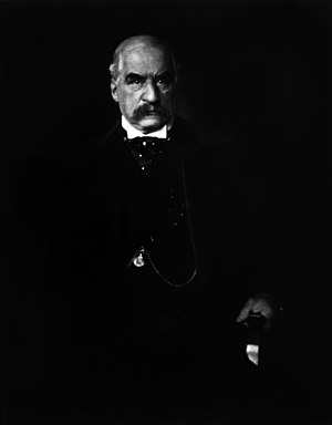 English: J.P. Morgan photographed by Edward St...
