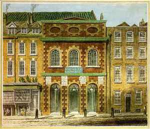 William Capon (1757-1827): Italian Opera House...
