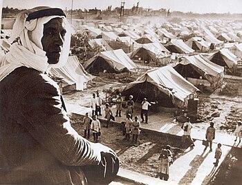 Nakba 1948 Palestine - Jaramana Refugee Camp, ...