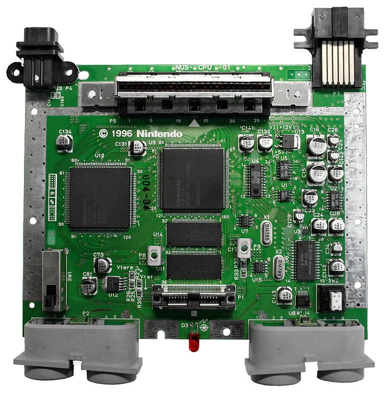 N64's CPU Motherboard