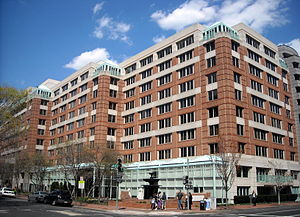 English: The Park Hyatt Washington, located at...