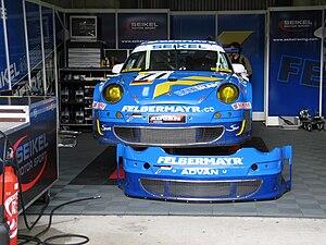 Seikel Motorsport Porsche 997 GT3 RSR No. 71 W...