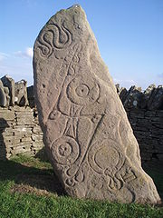 Pictish Serpent Stone