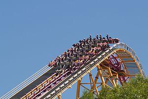 Six Flags Magic Mountain X