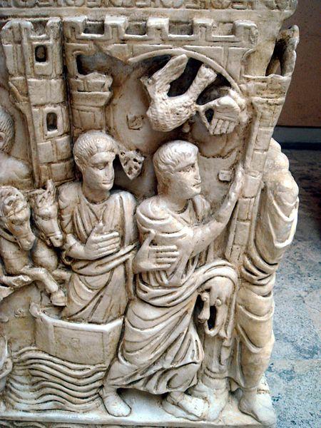 Archivo:8723 - Roma, museo civiltà Romana - Sarcofago di Stilicone - Foto Giovanni Dall'Orto 12-Apr-2008.jpg