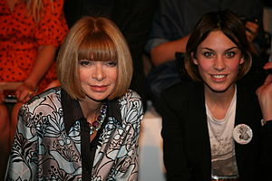 Anna Wintour (left) & Alexa Chung at the Twent...