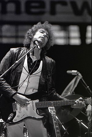 Bob Dylan performing in Rotterdam, June 23 1978