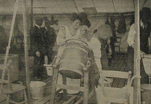 Churning butter Jersey 1912